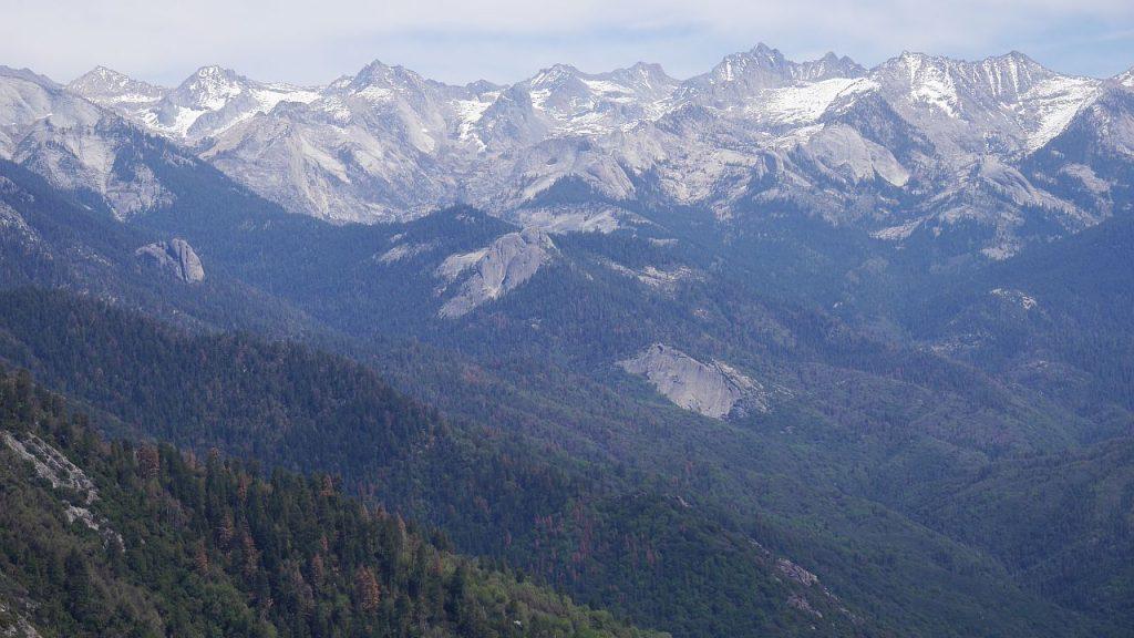 Moro Rock Trail: Ausblick