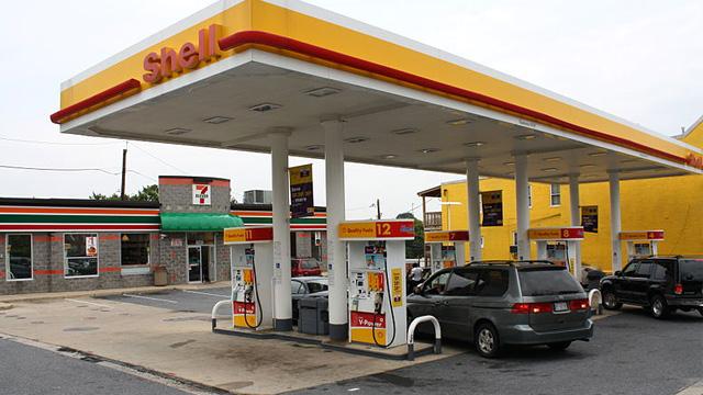 Tankstellen Usa