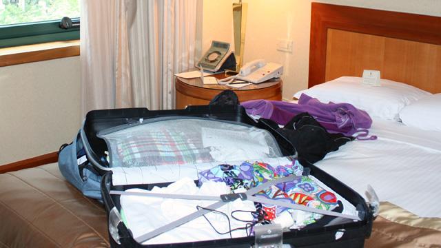 Koffer USA Bild