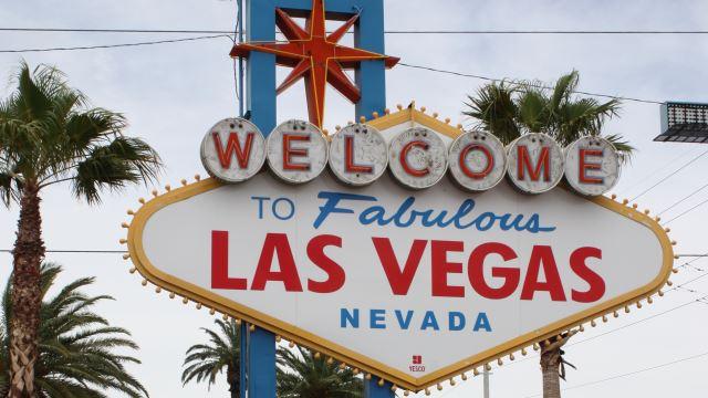 Las Vegas Schild Foto