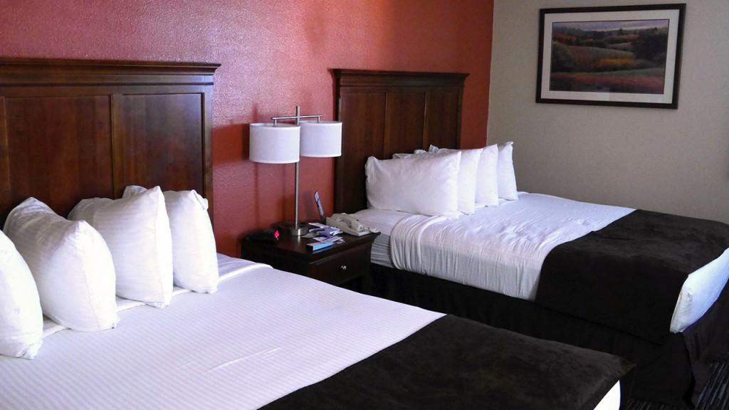 Hotelzimmer in den USA