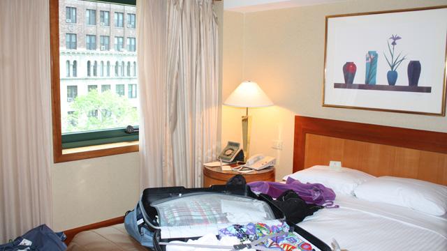 Hotelzimmer New York Bild