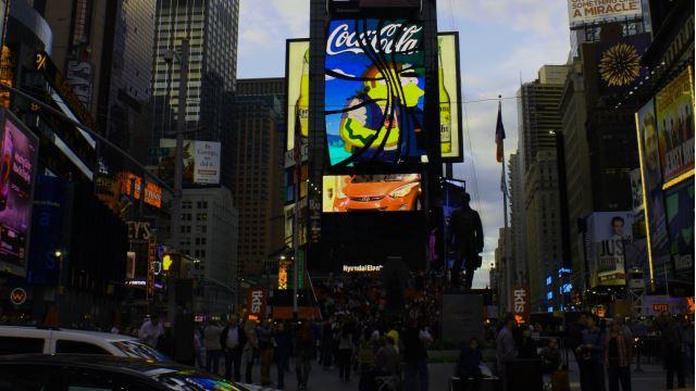 Times Square Sehenswürdigkeiten Bild