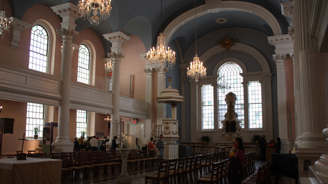 Kirchen in New York Bild
