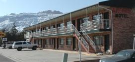 Ein typisches Motel in Moab