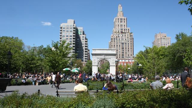 Washington Square Park Bild