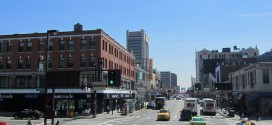 Kreuzung in Harlem
