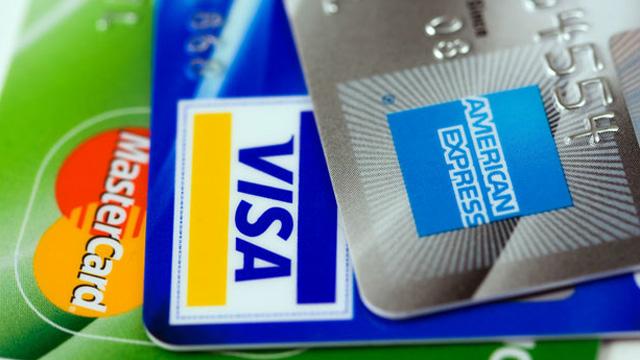 Auswahl an Kreditkarten