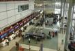 Schalterhalle Flughafen USA