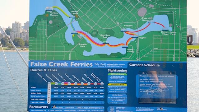 False Creek Ferries Überblick