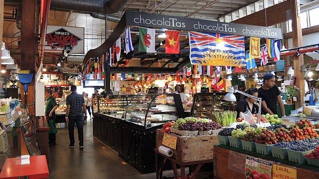 Markt auf Granville Island