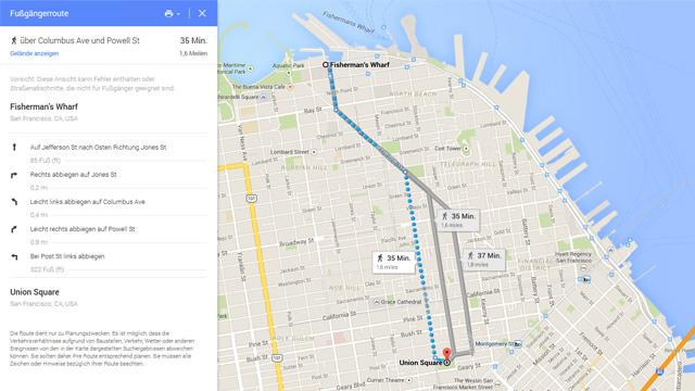 routenplaner google maps ecosia. Black Bedroom Furniture Sets. Home Design Ideas