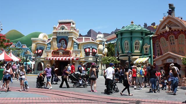 Disneyland und Erwachsene Ticket