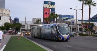 Nahverkehr am Strip in Las Vegas