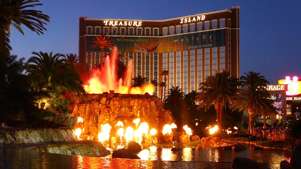 Eine von vielen Sehenswürdigkeiten in Las Vegas