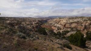 Ausblick an der State Route 12 von Utah