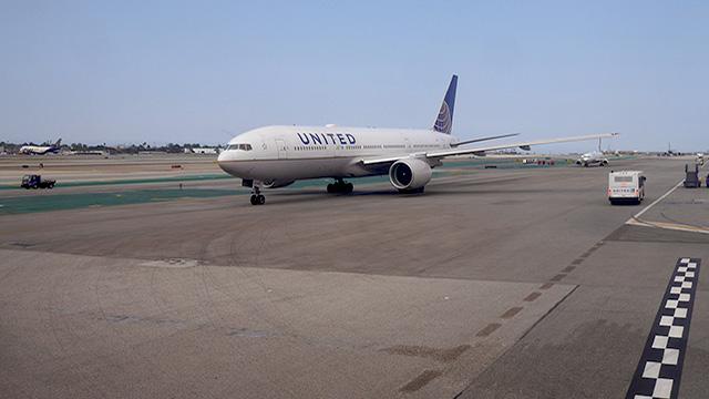 Airport Los Angeles Abflug