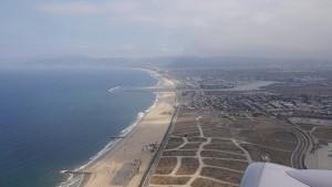 Los Angeles / Santa Monica aus der Luft