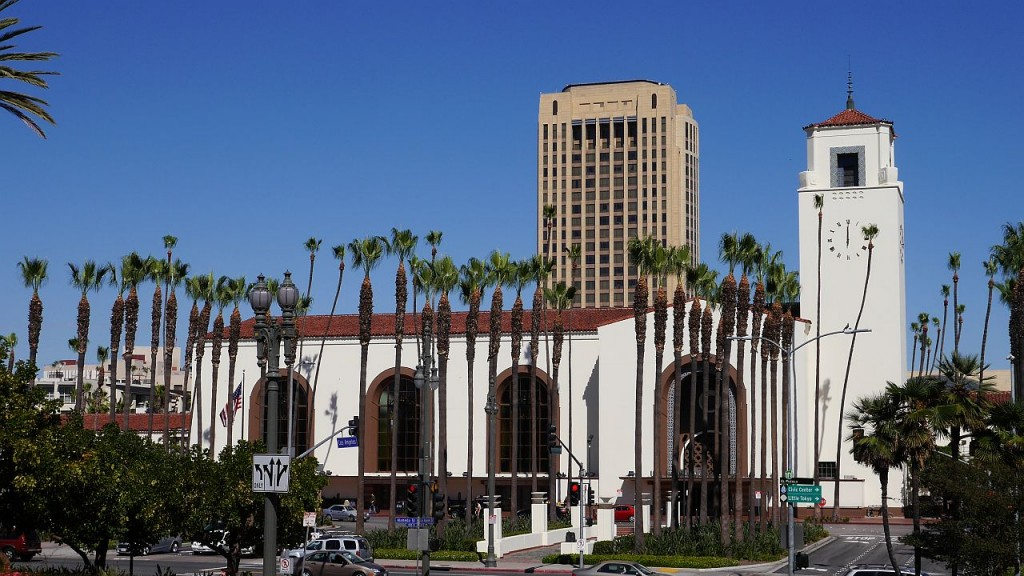Die Union Station in Downtown Los Angeles.