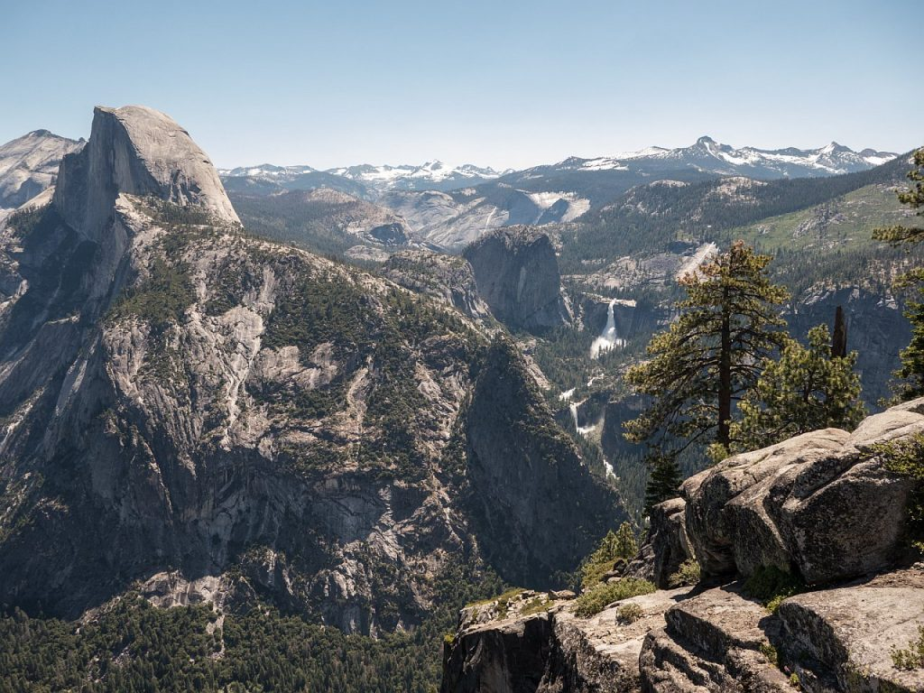 Glacier Point Ausblick