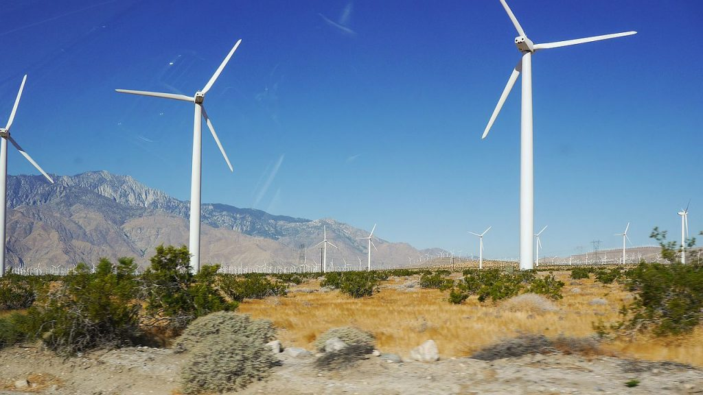 Palm Springs: Windräder