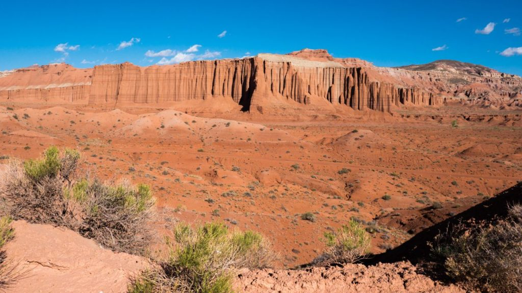 Cathedral Valley: Abgelegenes Gebiet
