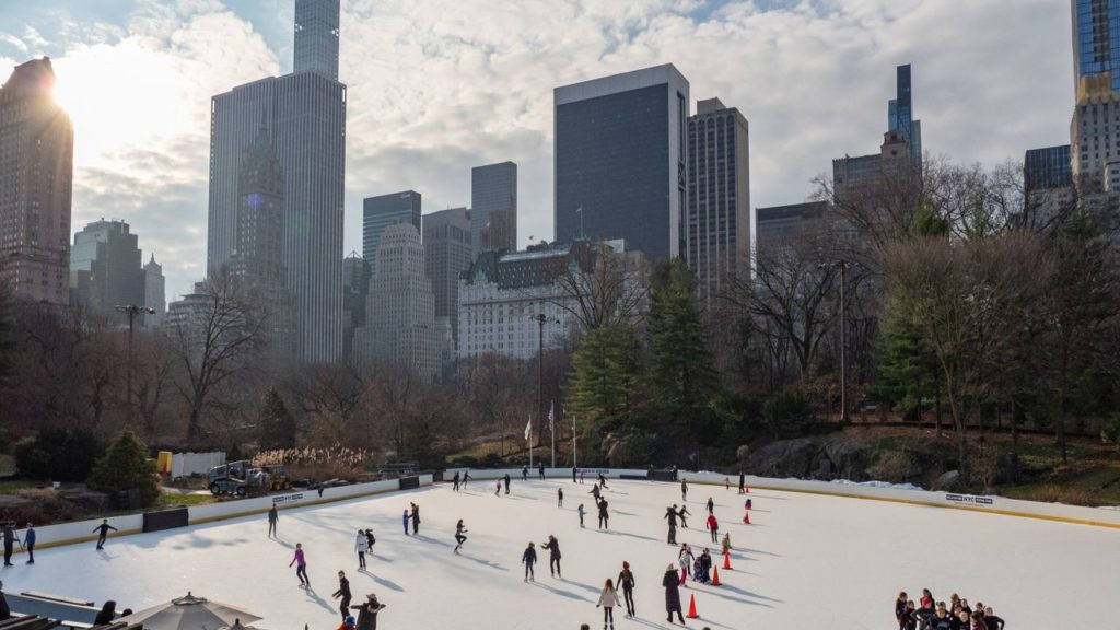Ice Rink im Central Park.