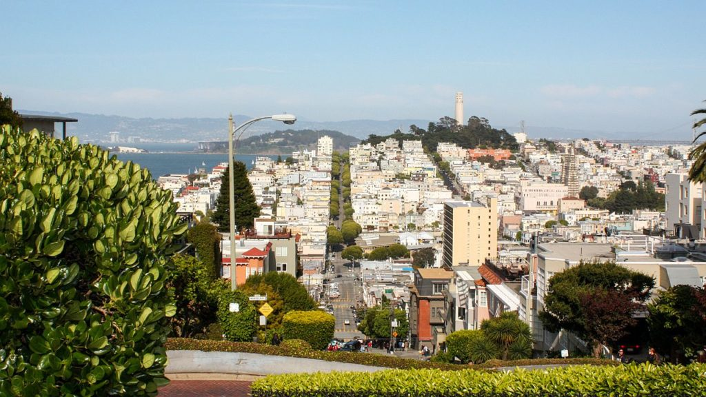 Der Coit Tower San Francisco.