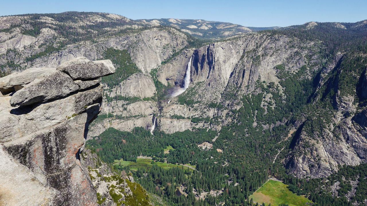 Glacier Point mit Blick aufs Yosemite Valley