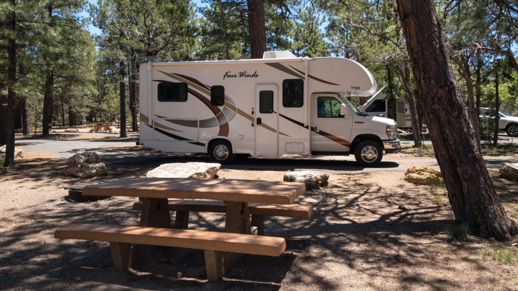 Mather Campground am Grand Canyon South Rim.
