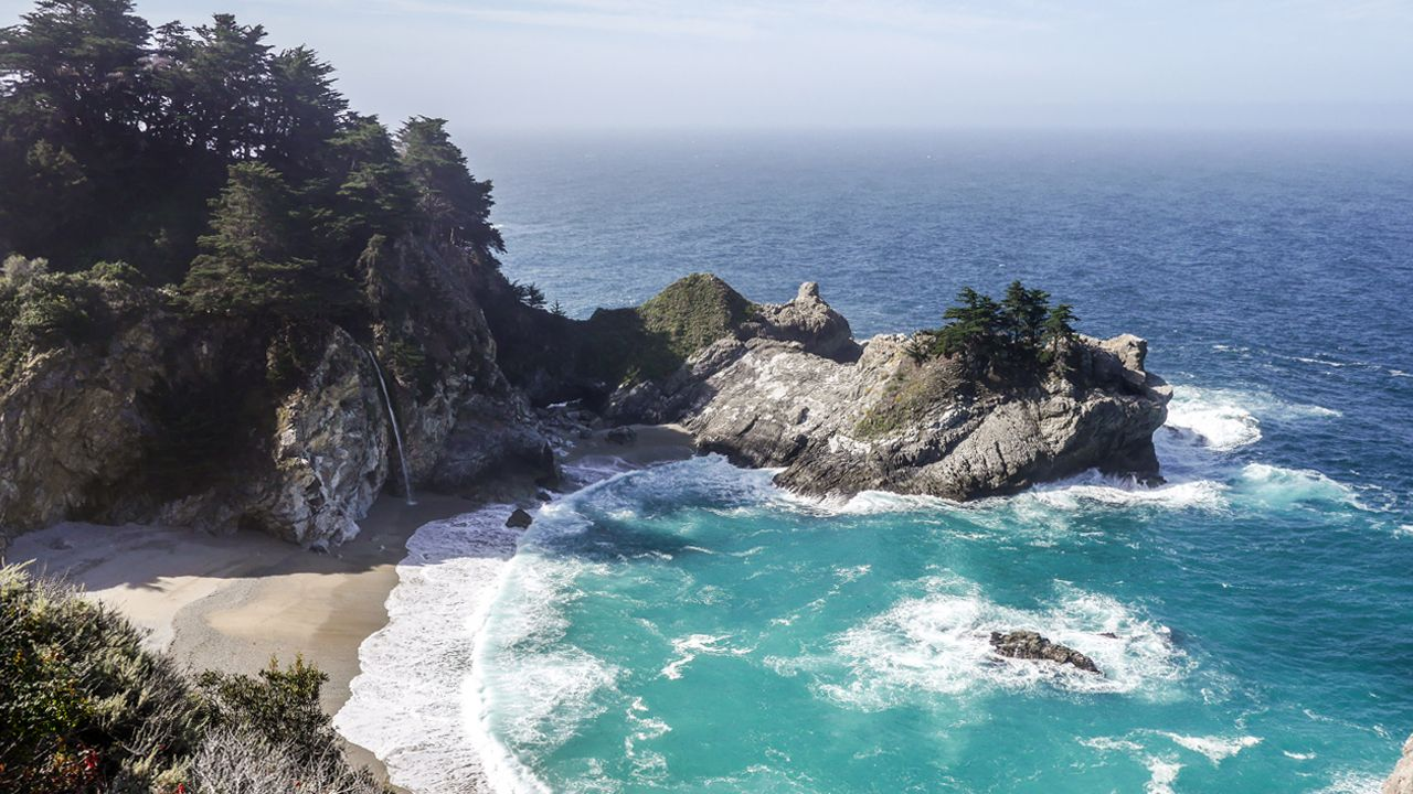 McWay Falls im Julia Pfeiffer Burns State Park