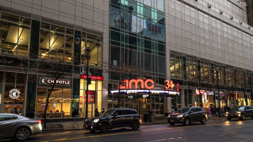 AMC Kino Penn Station in New York.