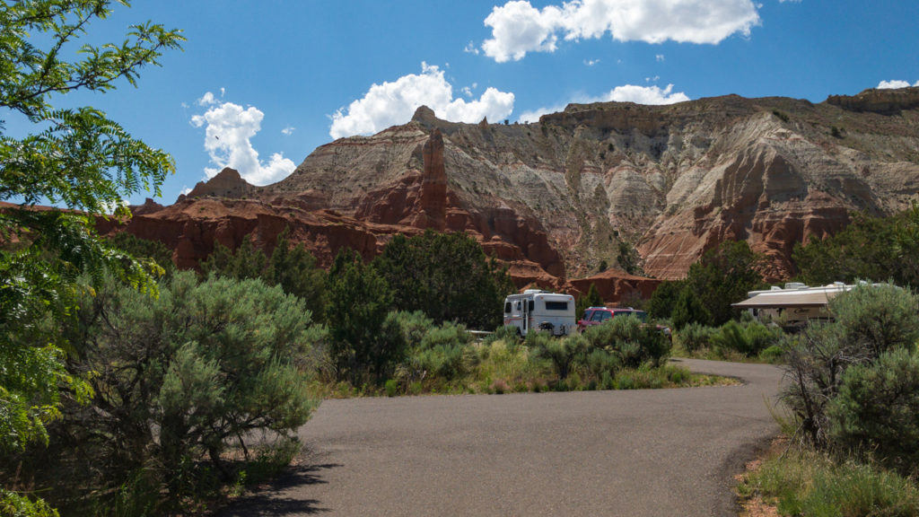 Basin Campground in Kodachrome.