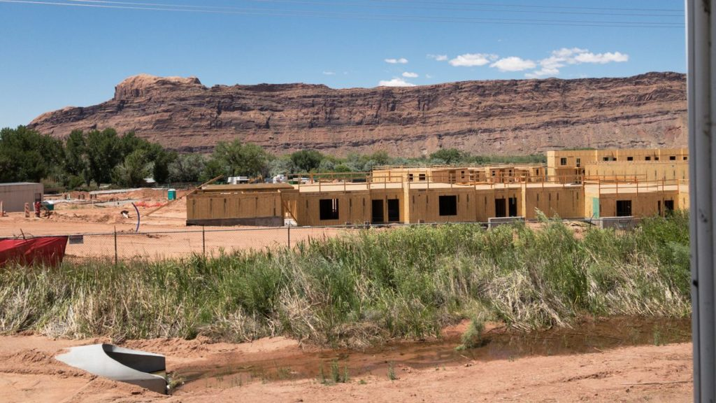 Neues Hotel in Moab.