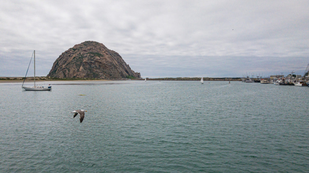 Morro Rock vor Morro Bay.