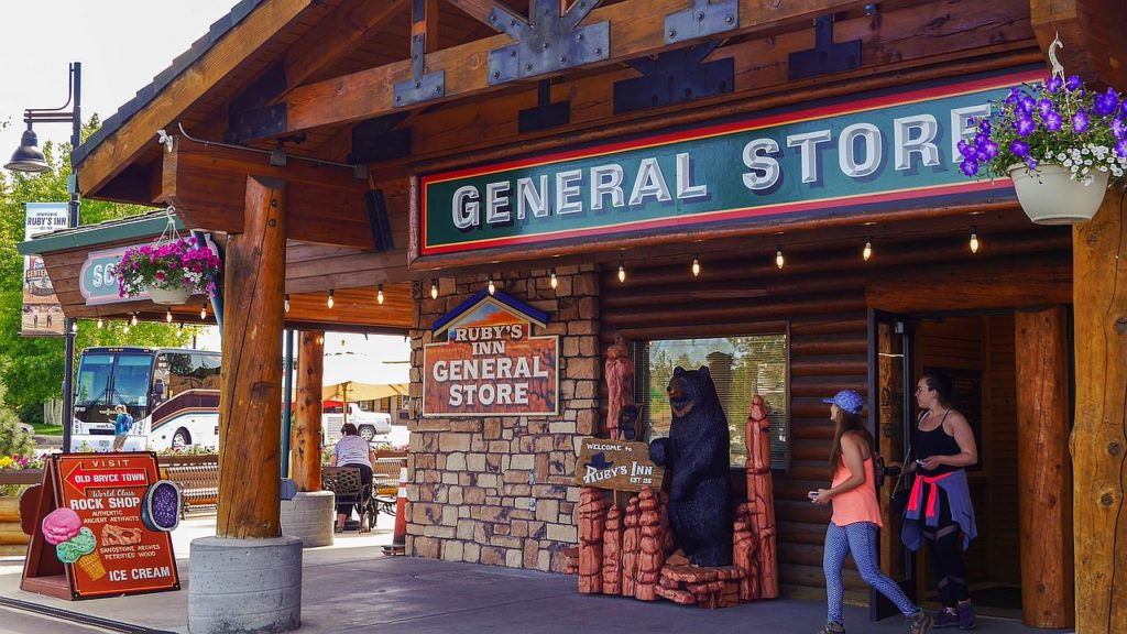 General Store am Ruby's Inn