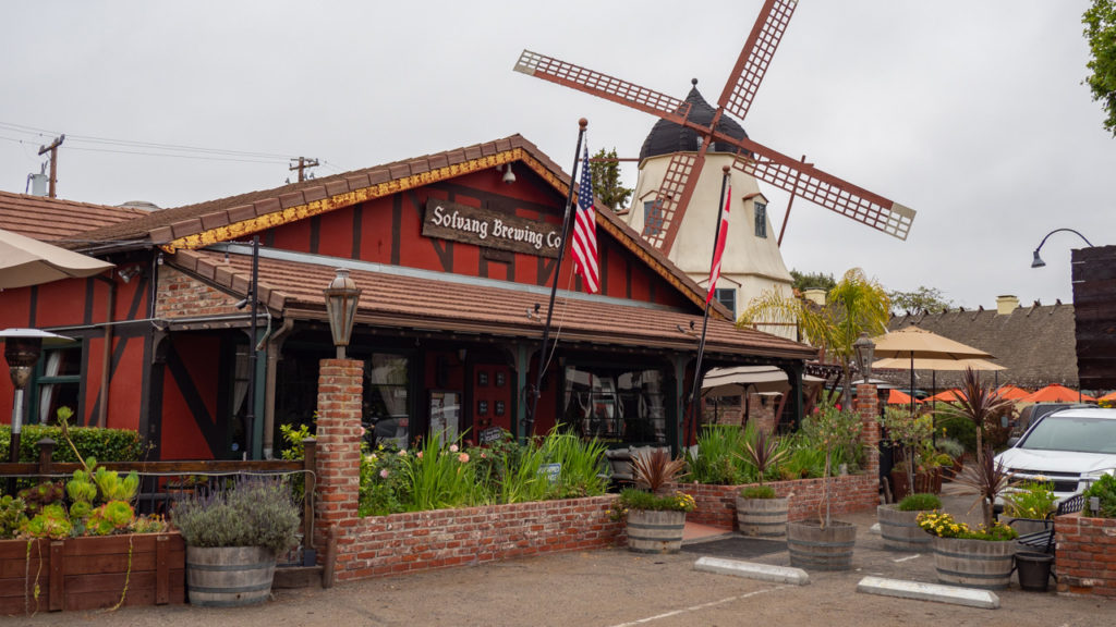Windmühle in Solvang.