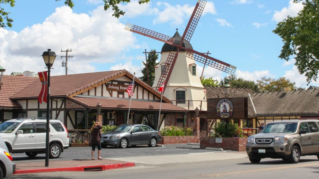 Windmühle in Solvang